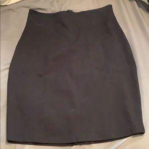 Black strechy skirt